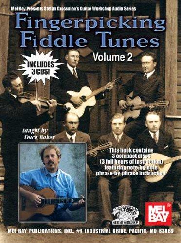 Duck Baker: Fingerpicking Fiddle Tunes Volume 2 Book/3-Cd Set: Guitar: