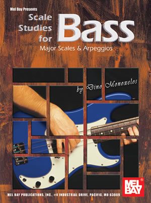 Monoxelos: Scale Studies For Bass: Bass Guitar: Study