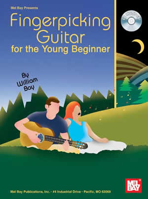William Bay: Fingerpicking Guitar For The Young Beginner: Guitar: Instrumental