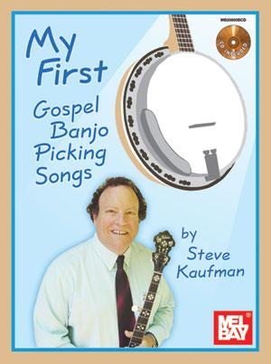 My First Gospel Banjo Picking Songs Bk/CD