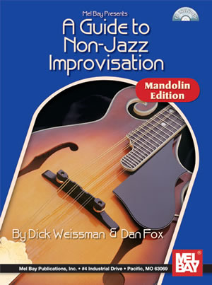 Dan Fox: A Guide to Non-Jazz Improvisation: Mandolin Ed.: Mandolin: Instrumental