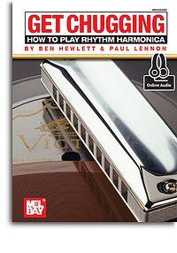 Ben Hewlett: Get Chugging: How To Play Rhythm Harmonica Book: Harmonica: