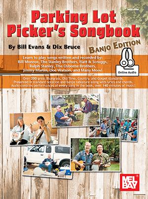 Dix Bruce: Parking Lot Picker's Songbook - Banjo: Banjo: Instrumental Album
