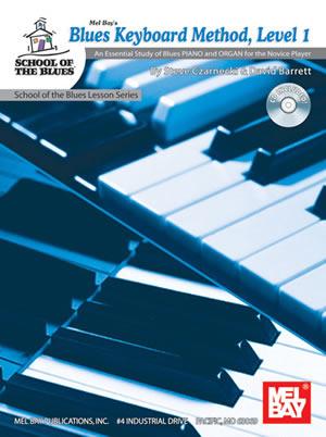 David Barrett: Blues Keyboard Method Level 1 Book/Cd Set: Electric Keyboard: