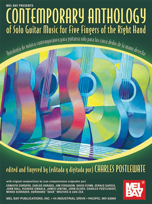 Charles Postlewate: Contemporary Anthology Of Solo Guitar Music: Guitar: