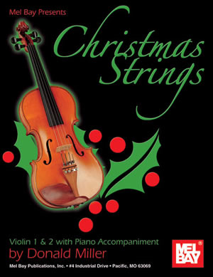 Miller: Christmas Strings: Violin 1 and 2: Violin Duet: Instrumental Album