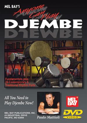 Paulo Mattioli: Anyone Can Play Djembe Dvd: Djembe: Instrumental Tutor