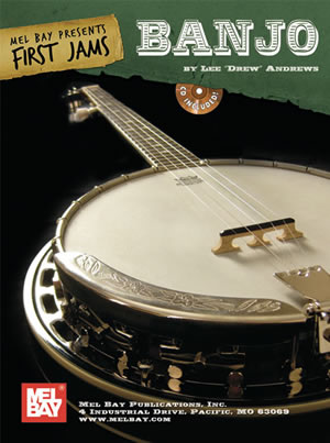 Lee Drew Andrews: First Jams: Banjo Book/Cd Set: Banjo: Instrumental Tutor