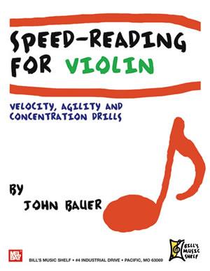 John Bauer: Speed-Reading For Violin: Violin: Instrumental Work