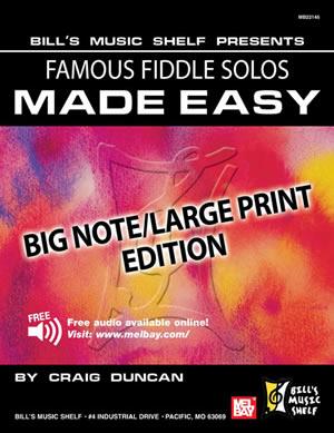 Craig Duncan: Famous Fiddle Solos Made Easy: Violin: Instrumental Album