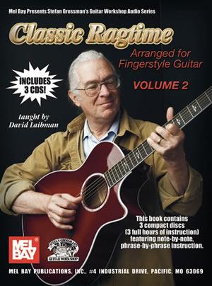 Classic Ragtime Guitar  Volume 2 Book/3-Cd Set: Guitar TAB: Instrumental Album