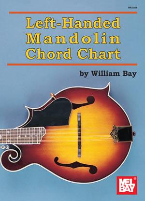 William Bay: Left-Handed Mandolin Chord Chart: Mandolin: Instrumental Tutor