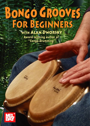Alan Dworsky: Bongo Grooves For Beginners Dvd: Bongos: Instrumental Tutor