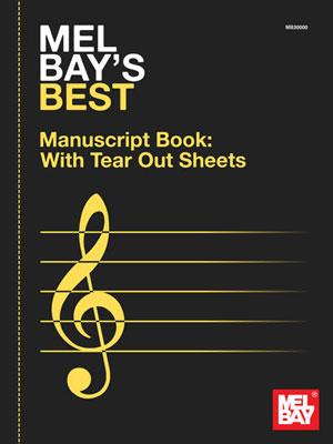 Mel Bay's Best Manuscript Book: Manuscript