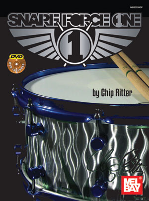 Chip Ritter: Chip Ritter: Snare Force One: Drum Kit: Instrumental Tutor
