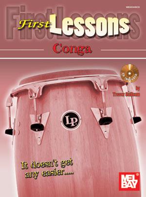 Trevor Salloum: First Lessons Conga: Congas: Instrumental Tutor