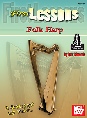 Star Edwards: First Lessons Folk Harp: Harp: Instrumental Tutor