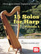 Monika Mandelartz: 15 Solos For Harp Volume 1: Harp: Mixed Songbook