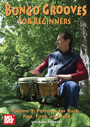 Alan Dworsky: Bongo Grooves For Beginners Volume 2 Dvd: Bongos: Instrumental