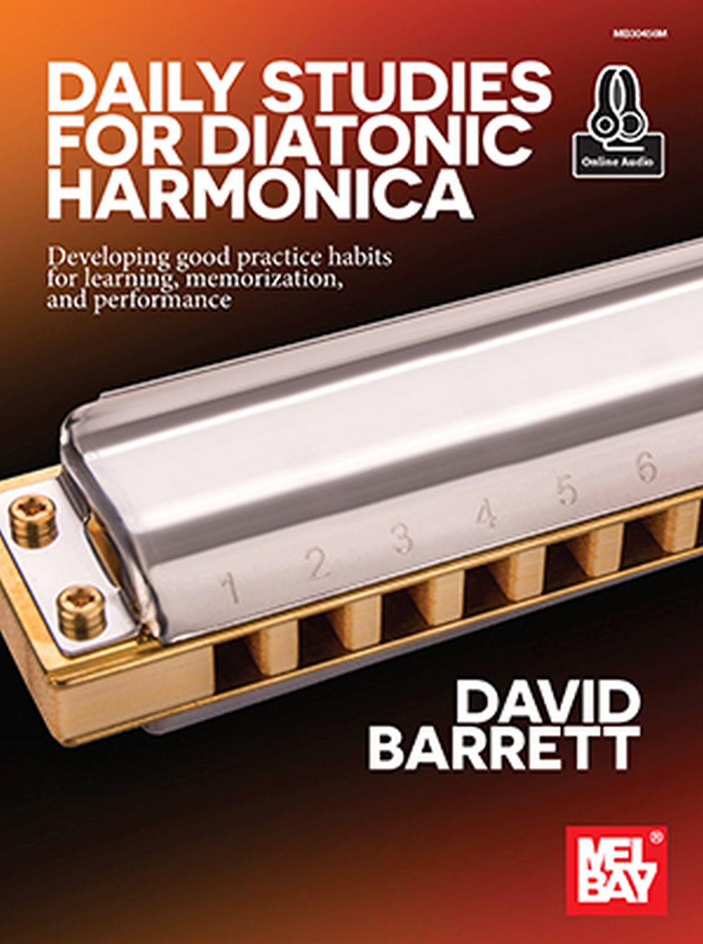 David Barrett: Daily Studies for Diatonic Harmonica: Harmonica: Instrumental