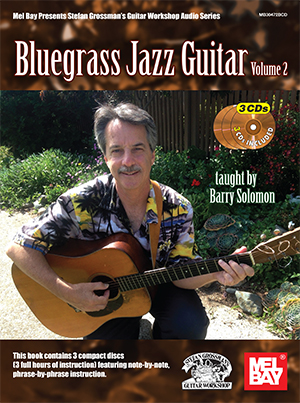 Solomon Barry Bluegrass Jazz Guitar Volume 2 Guitar Book/Cd