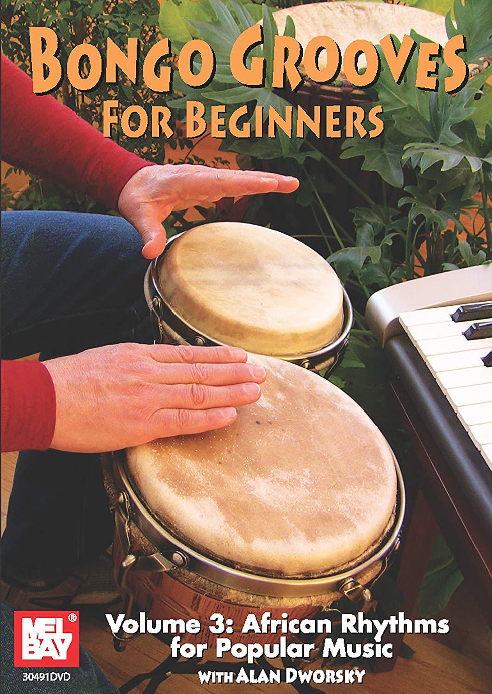 Alan Dworsky: Bongo Grooves For Beginners Volume 3 Dvd: Bongos: Instrumental