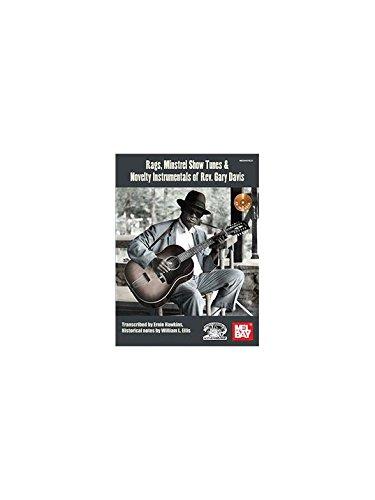 Gary Davis: Rags  Minstrel Show Songs: Guitar: Instrumental Work