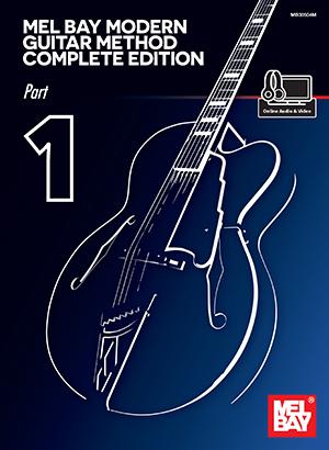 Mel Bay William Bay: Mel Bay Modern Guitar Method: Guitar: Instrumental Tutor