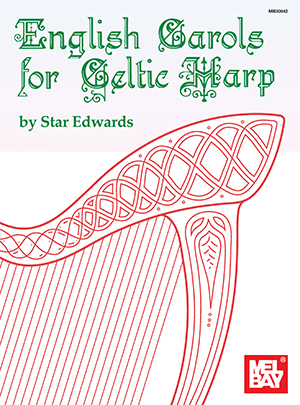 English Carols For Celtic Harp: Harp: Instrumental Tutor