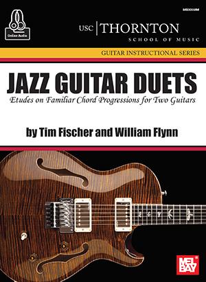 Tim Fischer William Flynn: Jazz Guitar Duets (Usc) Book With Online Audio: