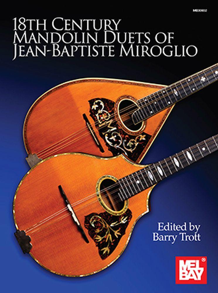Barry Trott: 18th Century Mandolin Duets: Mandolin: Instrumental Album
