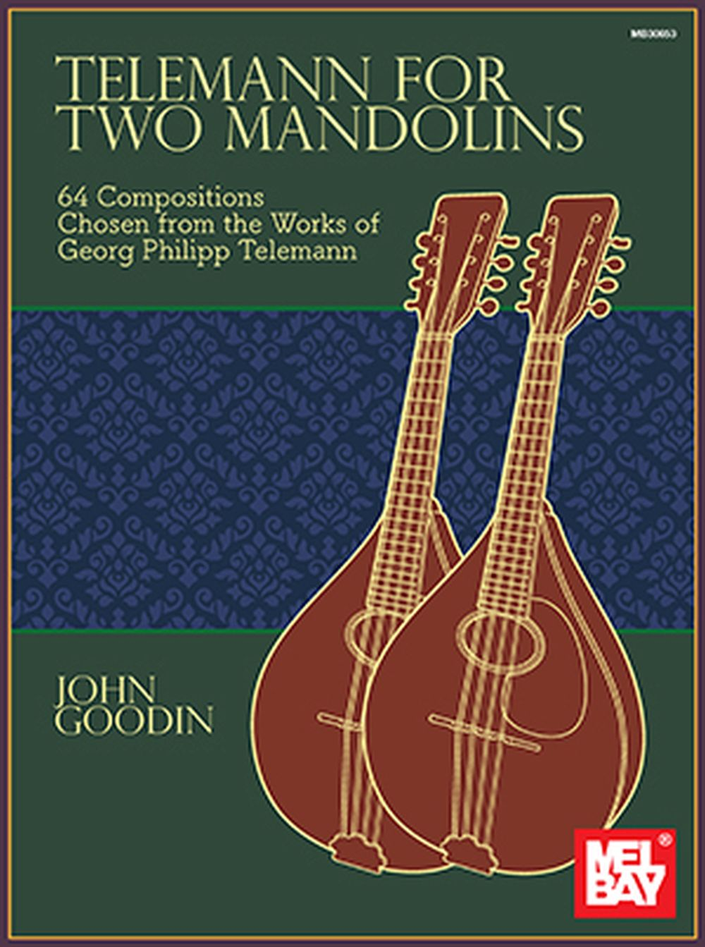 John Goodin: Telemann for Two Mandolins: Mandolin