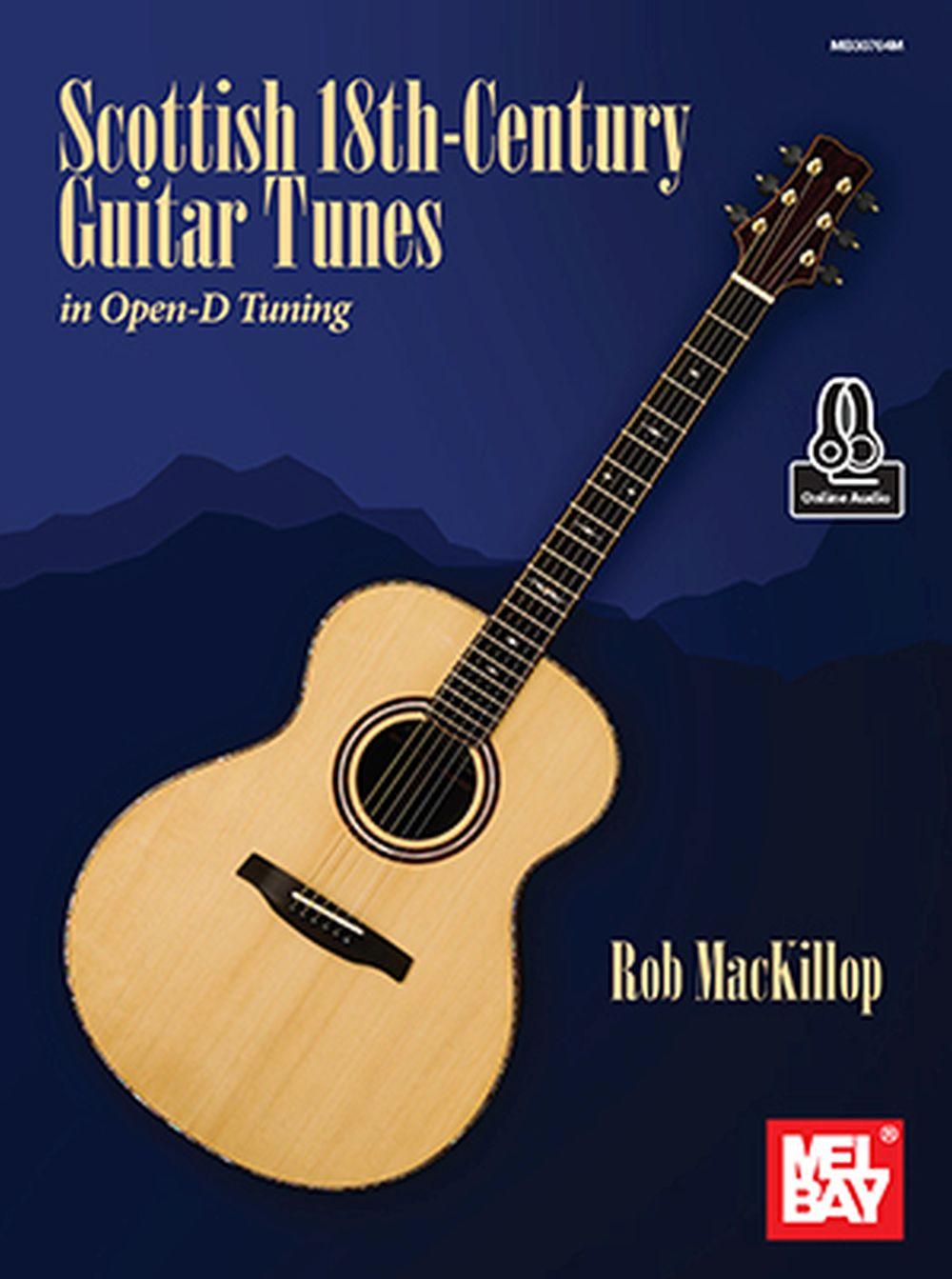 Rob MacKillop: Scottish 18th-Century Guitar Tunes: Guitar: Mixed Songbook
