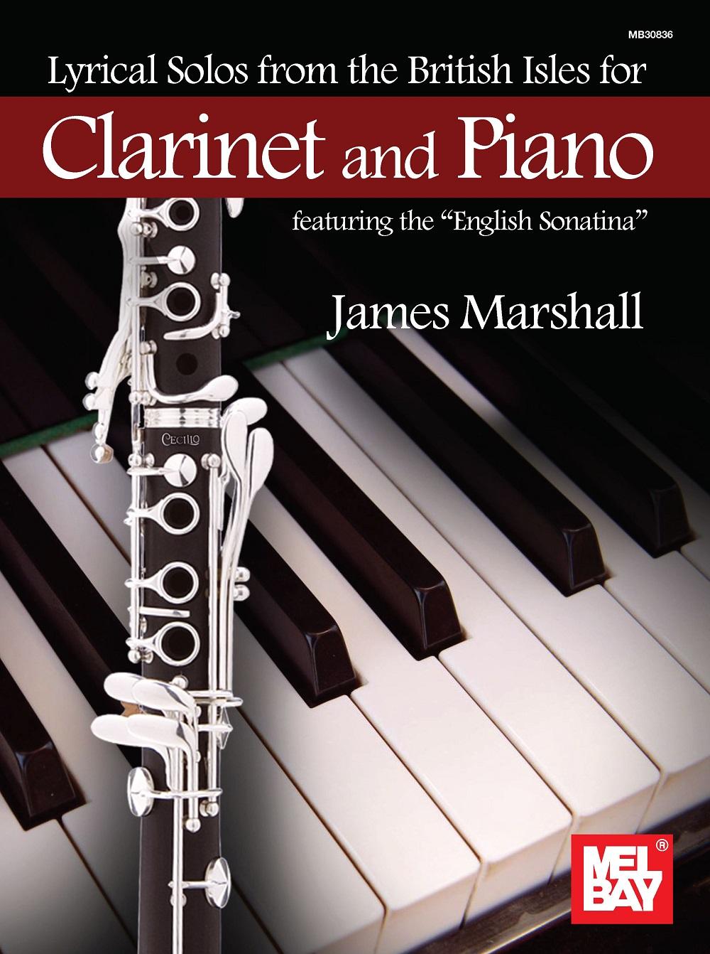 James Marshall: Lyrical Solos from the British Isles: Clarinet: Instrumental