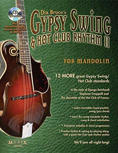 Dix Bruce: Gypsy Swing and Hot Club Rhythm Ii For Mandolin: Mandolin: