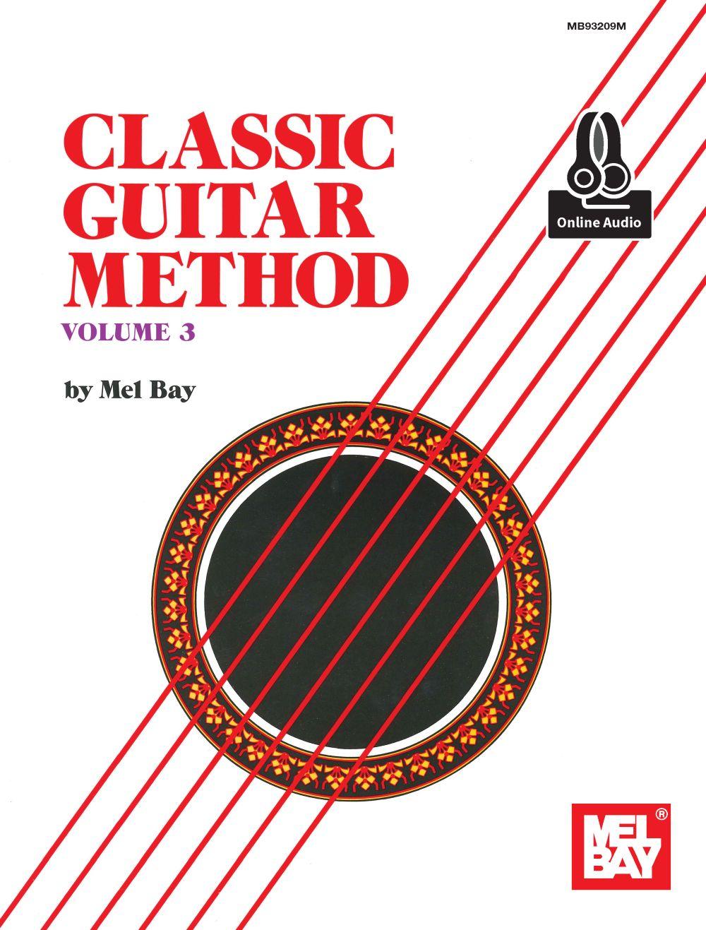 Classic Guitar Method Volume 3 Book: Guitar: Instrumental Tutor
