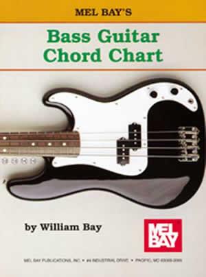Mel Bay: Bass Guitar Chord Chart: Bass Guitar