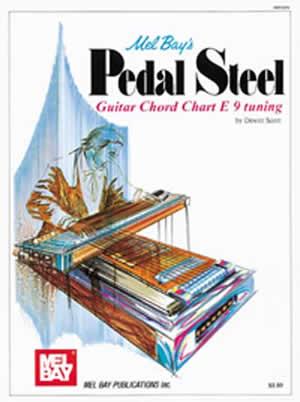 DeWitt Scott: Pedal Steel Guitar Chord Chart E 9 Tuning: Guitar