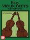 Burton Isaac: Easy Violin Duets in First Position: Violin