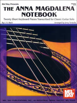 Jerry A. Tertocha: Magdalena  Anna Notebook For Classic Guitar  The: Guitar: