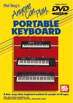 Waynw Judd: Anyone Can Play Portable Keyboard: Electric Keyboard: Instrumental