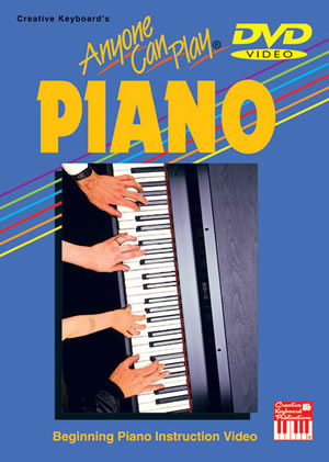 Beth Adams: Anyone Can Play Piano: Piano: Instrumental Tutor