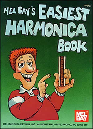 William Bay: Easiest Harmonica Book: Harmonica: Instrumental Tutor
