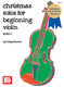 Christmas Solos For Beginning Violin: Violin: Instrumental Album