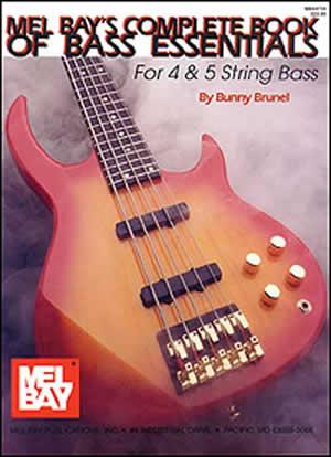 Brunel Music: Complete Book Of Bass Essentials: Bass Guitar: Study