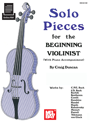 Craig Duncan: Solo Pieces For The Beginning Violinist: Violin: Instrumental