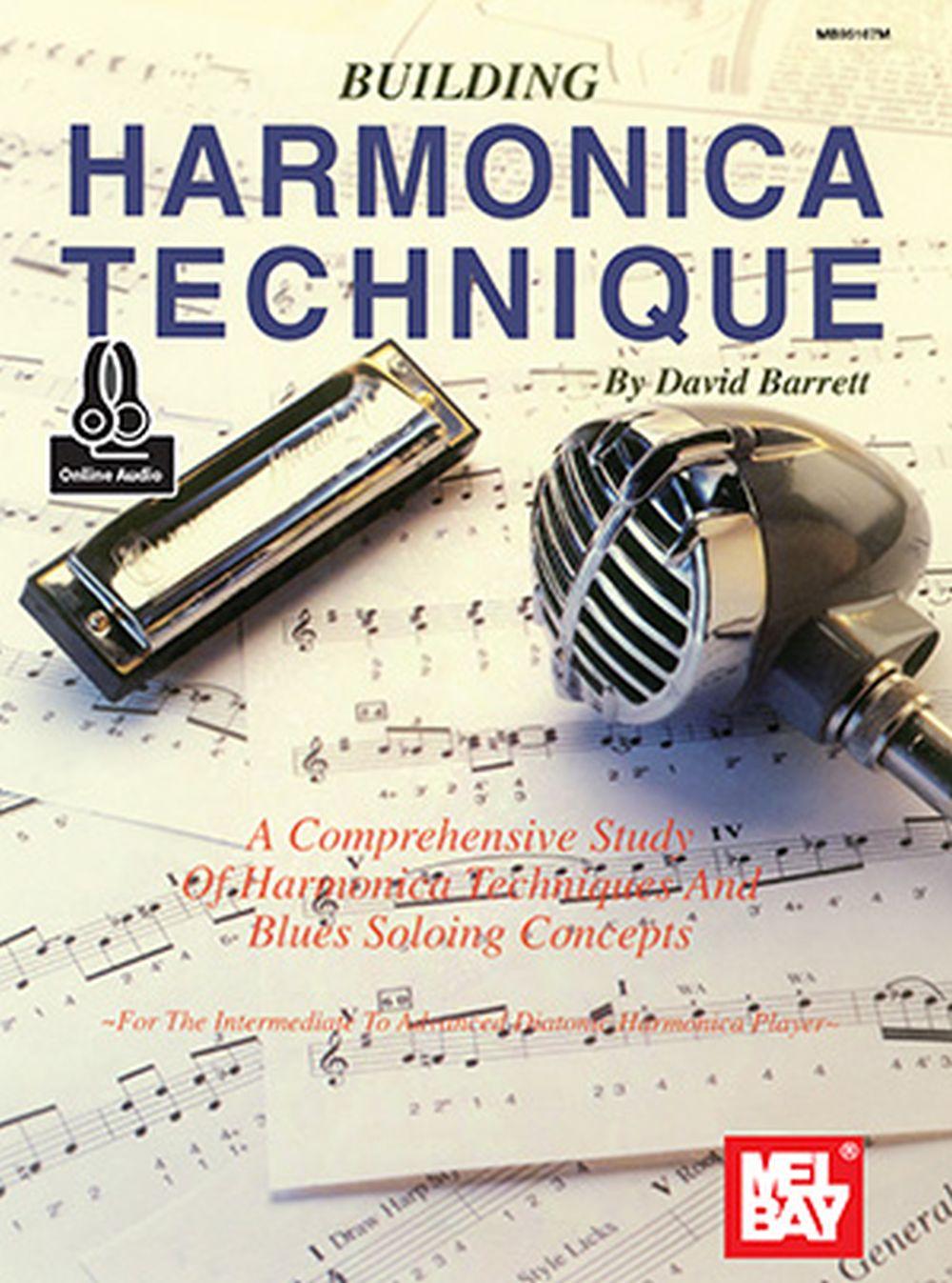 David Barrett: Building Harmonica Technique Book: Harmonica: Instrumental Tutor