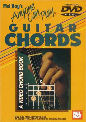 Vern Juran: Anyone Can Play Guitar Chords: Guitar: Instrumental Tutor