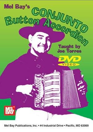 Joe Torres: Conjunto Button Accordion Dvd: Accordion: Recorded Performance