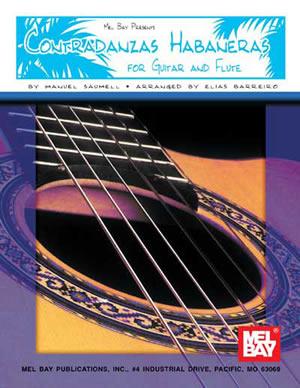 Elias Barreiro: Contradanzas Habaneras for Guitar and Flute: Guitar